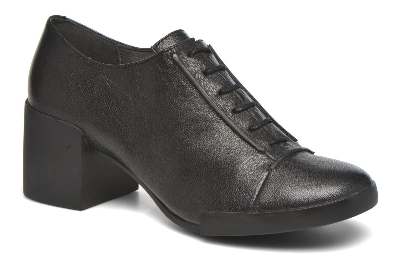 Ankelstøvler Camper Lotta Lace Sort detaljeret billede af skoene
