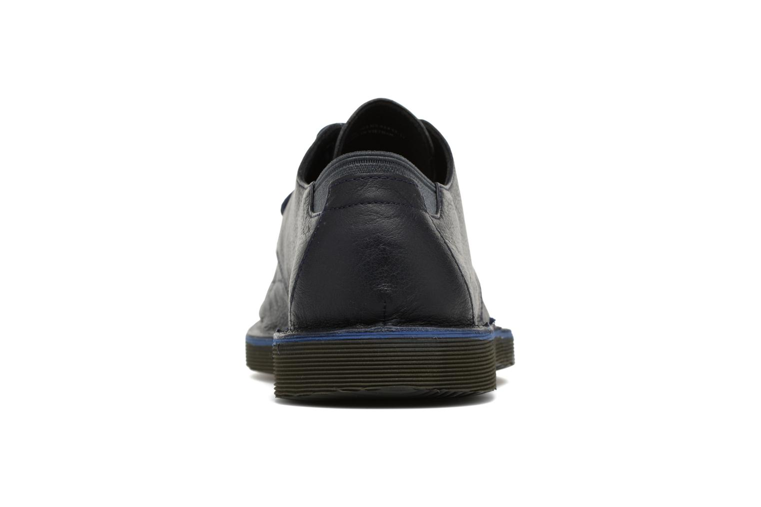 Lace-up shoes Camper Morrys Blue view from the right