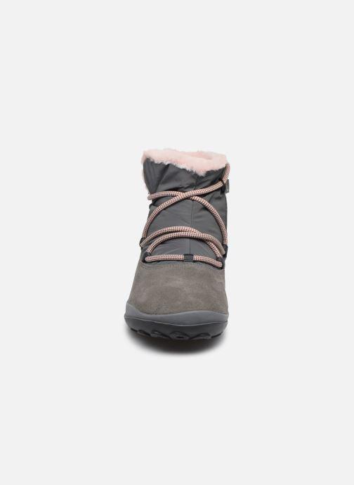Chaussures à lacets Camper Peu Pista Kids G Gris vue portées chaussures