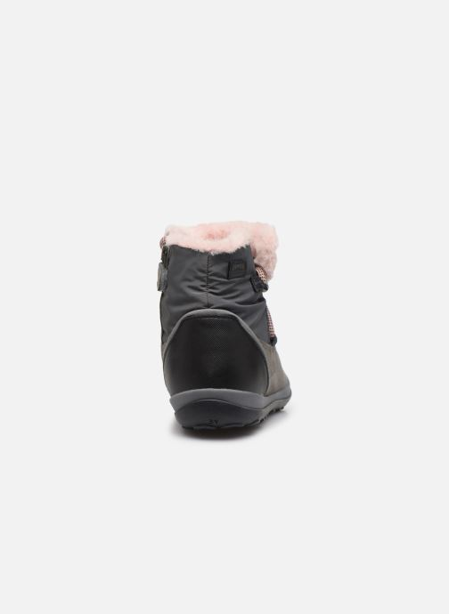 Zapatos con cordones Camper Peu Pista Kids G Gris vista lateral derecha