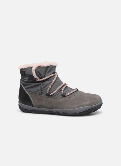 Chaussures à lacets Camper Peu Pista Kids G Gris vue derrière