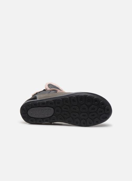 Chaussures à lacets Camper Peu Pista Kids G Gris vue haut