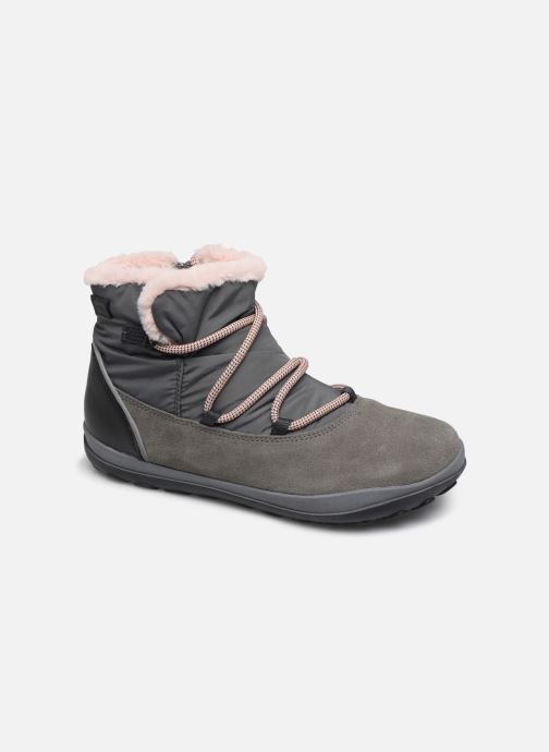 Chaussures à lacets Camper Peu Pista Kids G Gris vue détail/paire