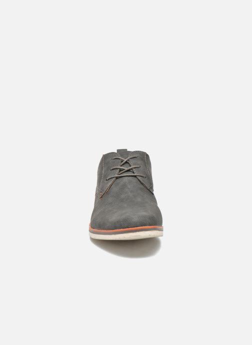 Chaussures à lacets I Love Shoes KEHOLE Gris vue portées chaussures