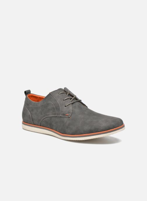 Lace-up shoes I Love Shoes KEHOLE Grey detailed view/ Pair view
