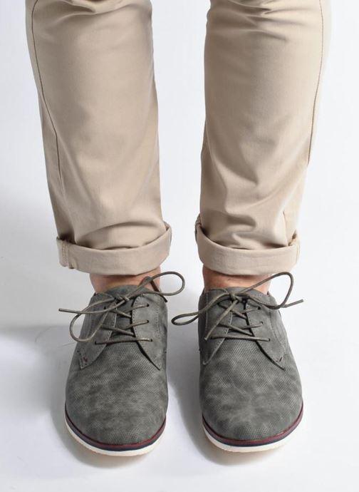 Zapatos con cordones I Love Shoes KEHOLE Gris vista de abajo