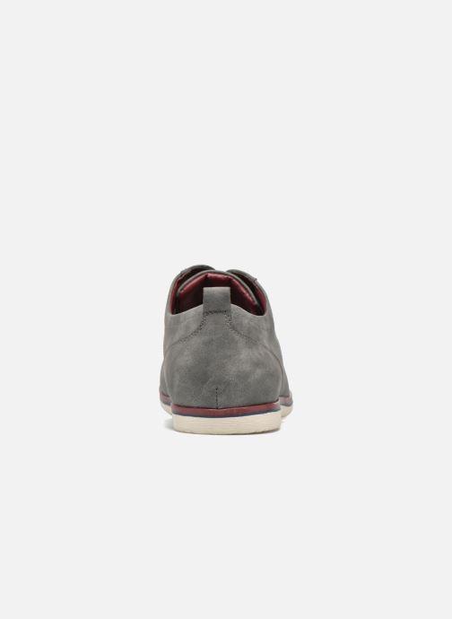 Schnürschuhe I Love Shoes KEHOLE grau ansicht von rechts