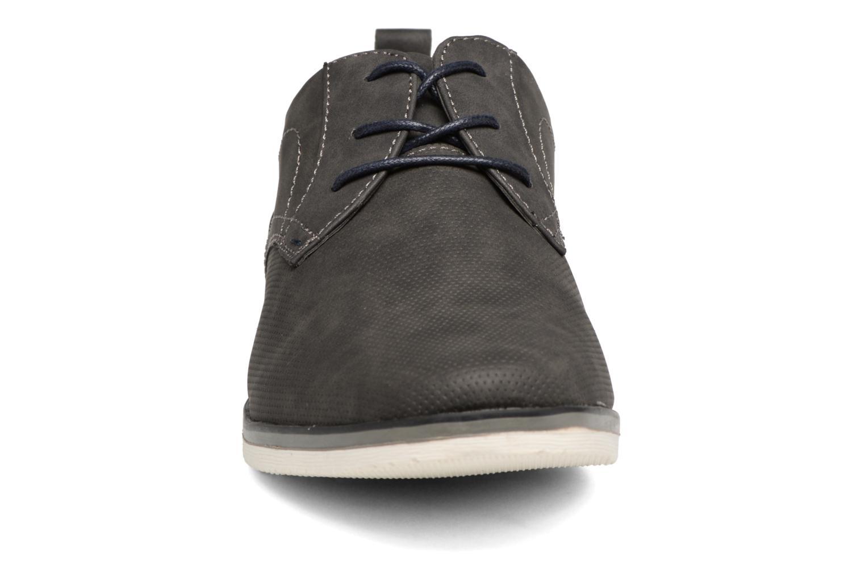 Schnürschuhe I Love Shoes KEHOLE grau schuhe getragen