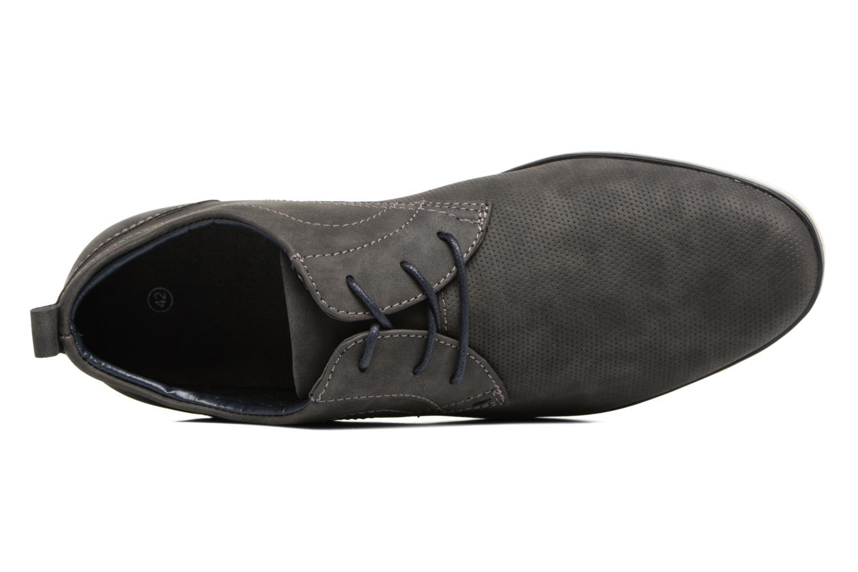 Schnürschuhe I Love Shoes KEHOLE grau ansicht von links