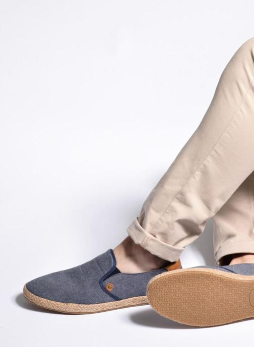 Alpargatas I Love Shoes KEDRILLE Gris vista de abajo