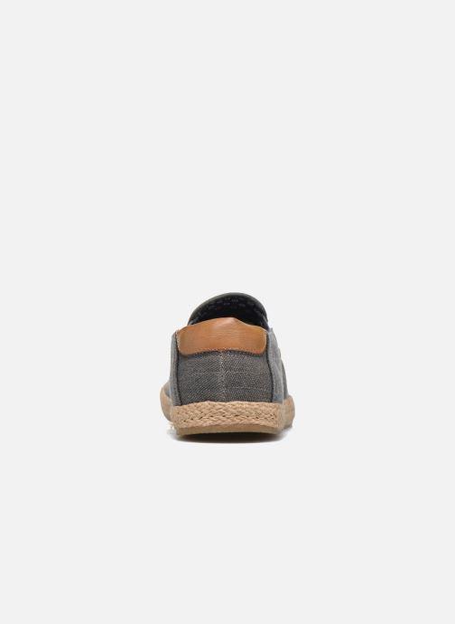 Alpargatas I Love Shoes KEDRILLE Gris vista lateral derecha