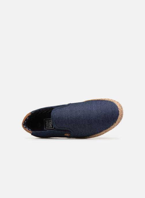 Espadrilles I Love Shoes KEDRILLE Bleu vue gauche
