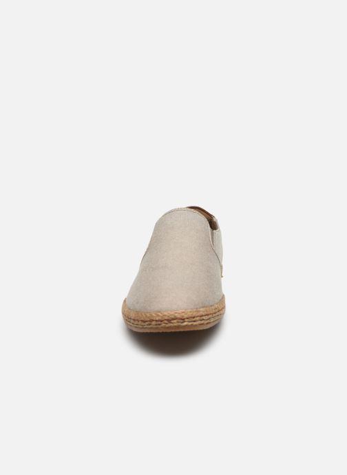 Alpargatas I Love Shoes KEDRILLE Beige vista del modelo