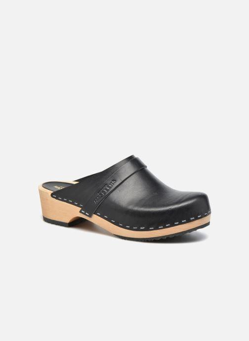 2b38cb1b ... Zapatos Mujer · Mujer Swedish Hasbeens; Swedish Husband. Zuecos Swedish  Hasbeens Swedish Husband Negro vista de detalle / par