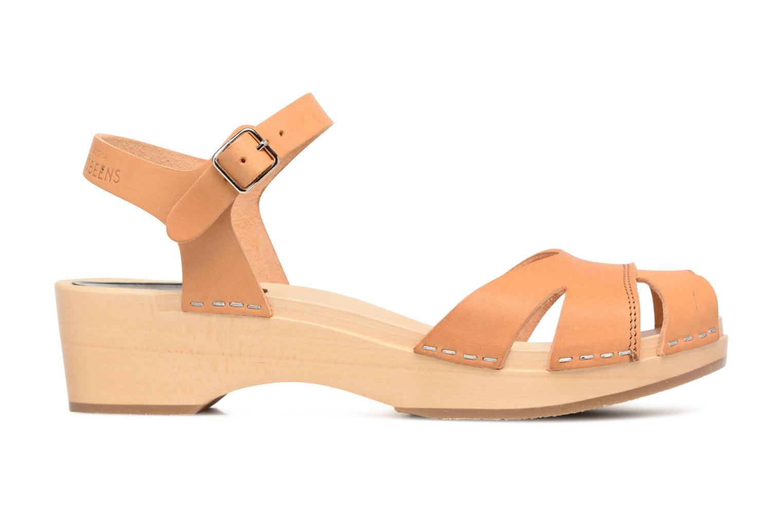Sandali e scarpe aperte Swedish Hasbeens Suzanne Debutant Beige immagine posteriore