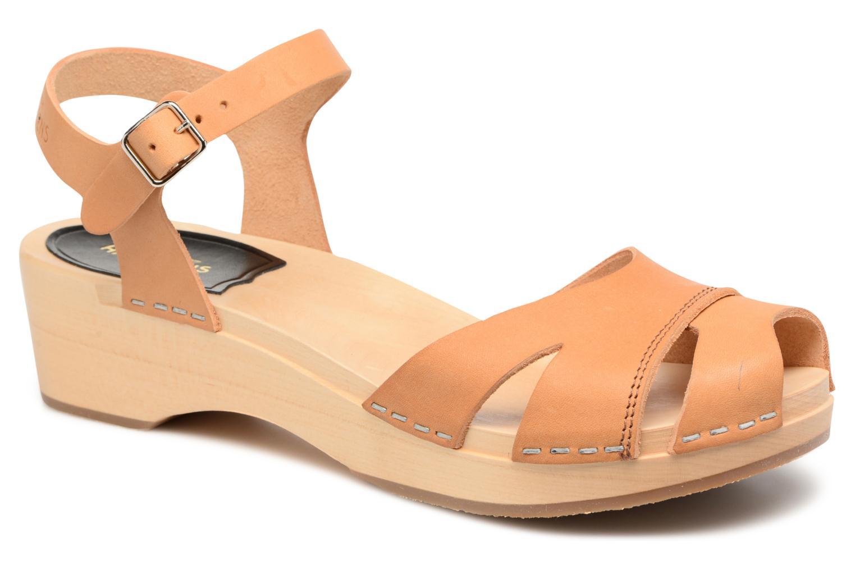 Sandali e scarpe aperte Swedish Hasbeens Suzanne Debutant Beige vedi dettaglio/paio