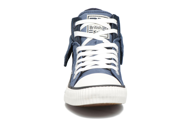 Baskets British Knights Roco M Bleu vue portées chaussures