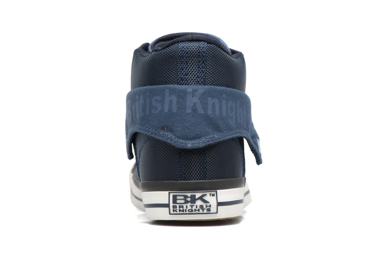 Baskets British Knights Roco M Bleu vue droite