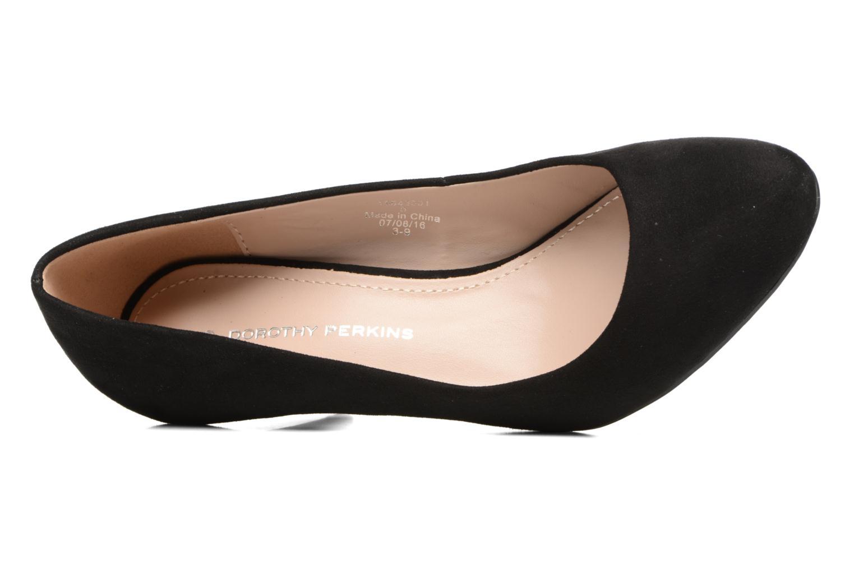 Zapatos de tacón Dorothy Perkins Cava Negro vista lateral izquierda
