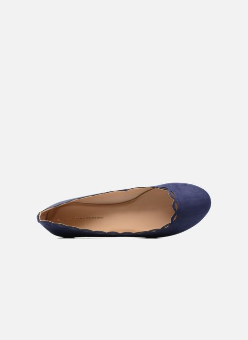 Ballet pumps Dorothy Perkins Postie Blue view from the left