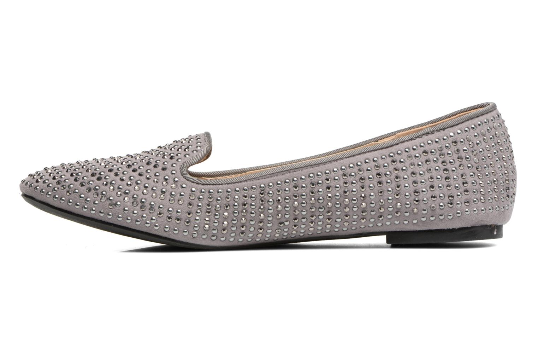 Loafers Dorothy Perkins Hannah Grå se forfra
