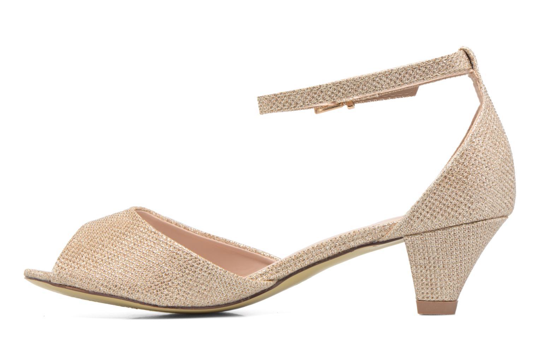 Sandaler Dorothy Perkins Richemond Guld og bronze se forfra