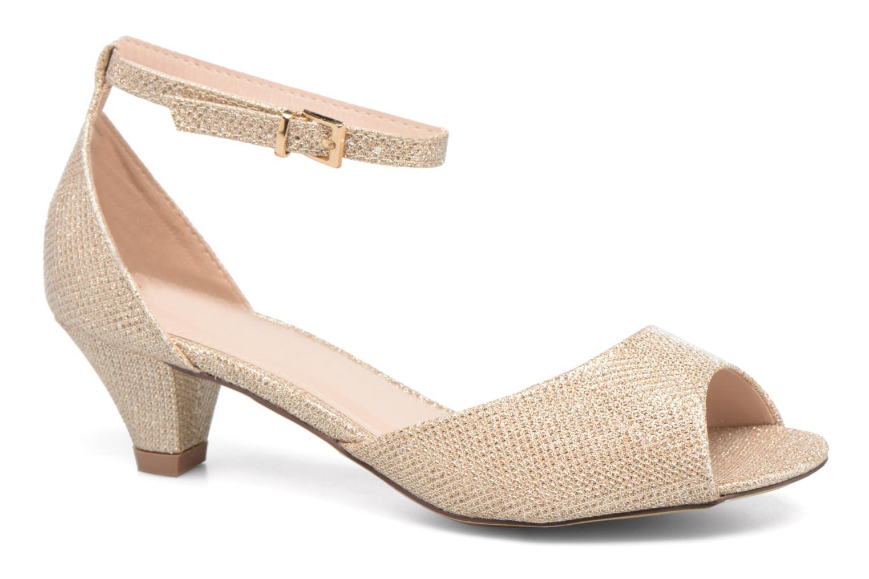 Sandaler Dorothy Perkins Richemond Guld og bronze detaljeret billede af skoene