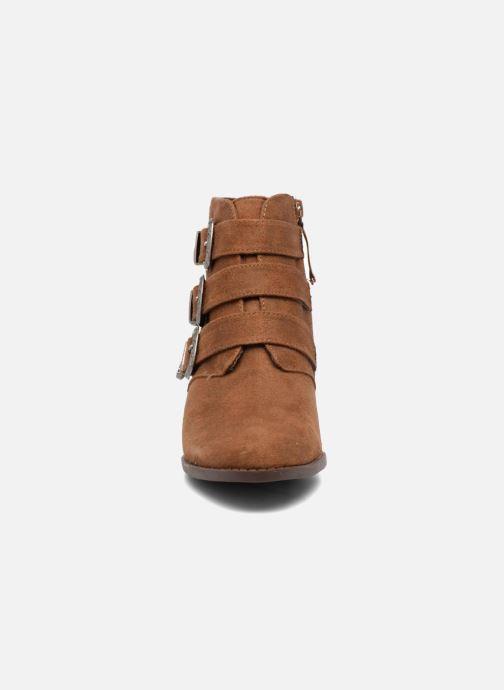 Bottines et boots Dorothy Perkins Angela Marron vue portées chaussures