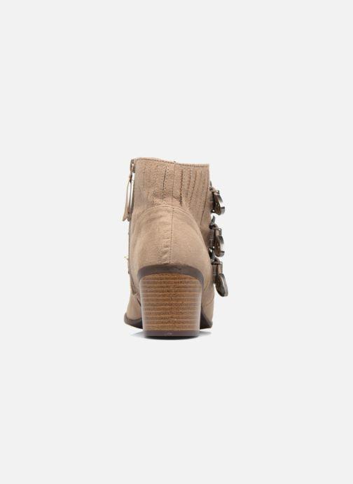 Stiefeletten & Boots Dorothy Perkins Angela braun ansicht von rechts