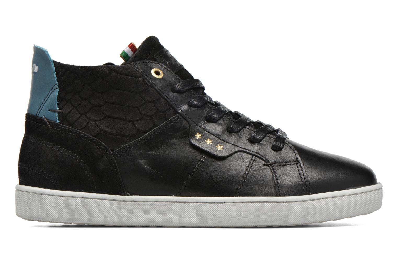 Baskets Pantofola d'Oro Montefino mid JR Noir vue derrière