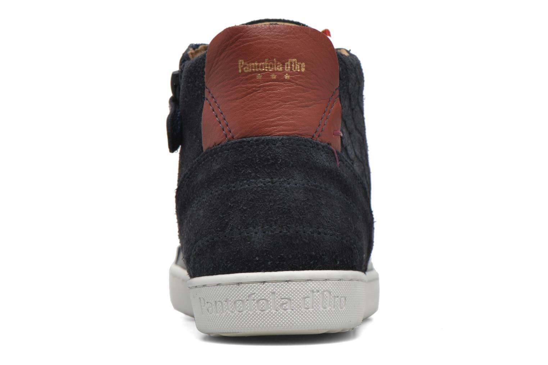 Sneakers Pantofola d'Oro Montefino mid JR Zwart rechts