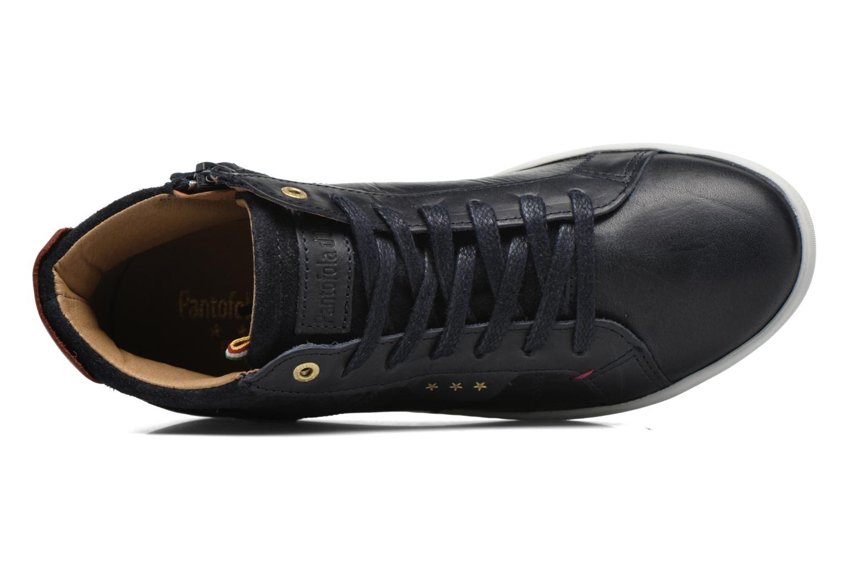 Sneakers Pantofola d'Oro Montefino mid JR Zwart links