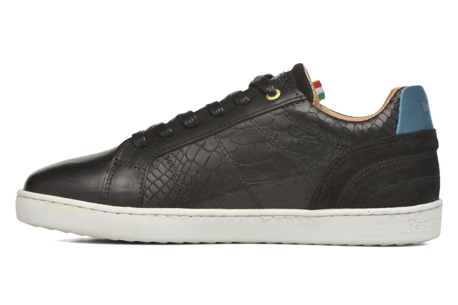 Sneakers Pantofola d'Oro Montefino low JR Nero immagine frontale