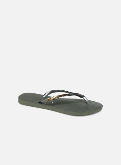 Slippers Havaianas Slim Metal Mesh Groen detail