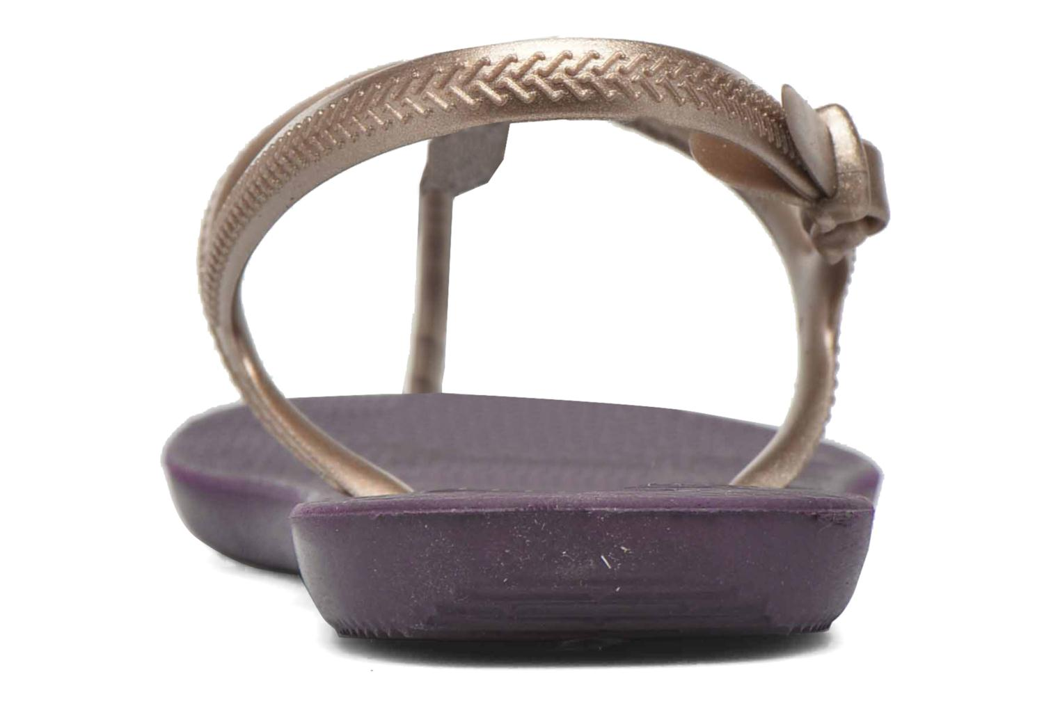 Sandals Havaianas Freedom Crystal Purple view from the right