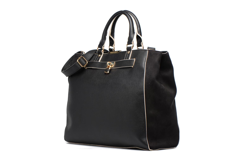 Handtaschen Dorothy Perkins Black WBone Piping Belted Oversize Tote schwarz schuhe getragen