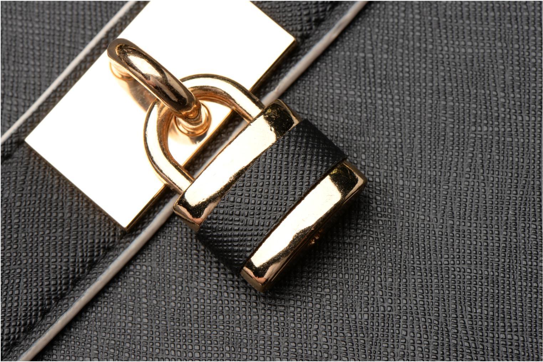 Handtaschen Dorothy Perkins Black WBone Piping Belted Oversize Tote schwarz ansicht von links