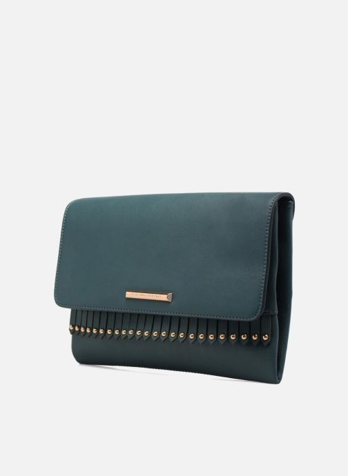 Clutch bags Dorothy Perkins Fringe Stud Clutch Blue model view