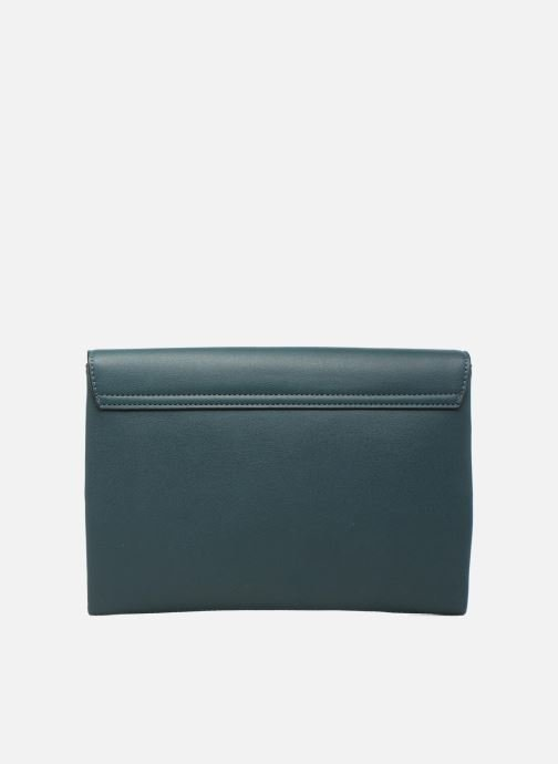 Clutch bags Dorothy Perkins Fringe Stud Clutch Blue front view