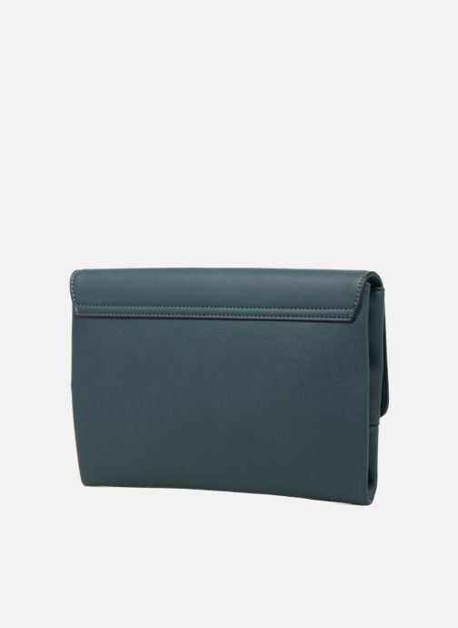 Clutch bags Dorothy Perkins Fringe Stud Clutch Blue view from the right