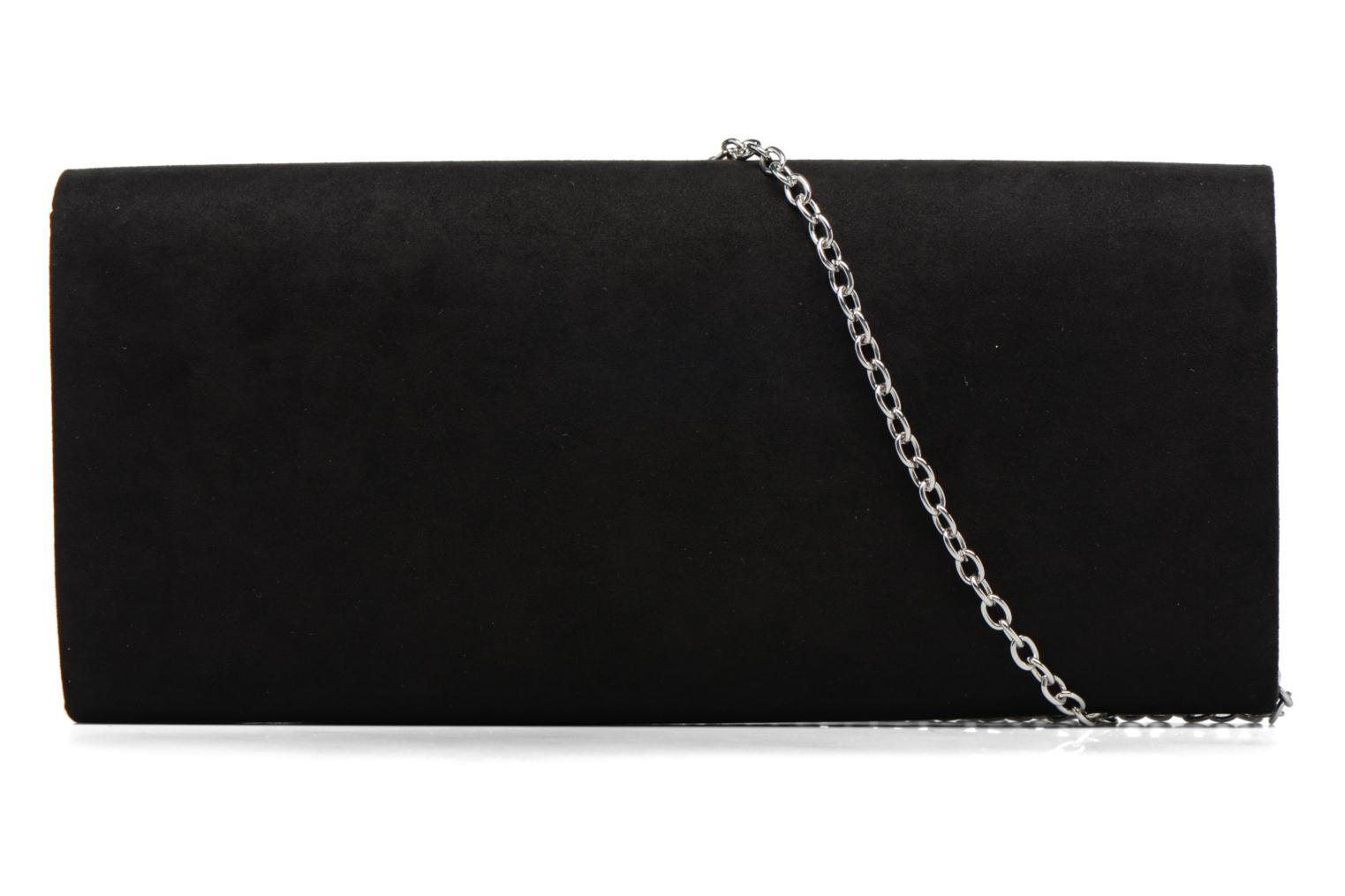 Sacs à main Dorothy Perkins Large Structured Clutch Noir vue face