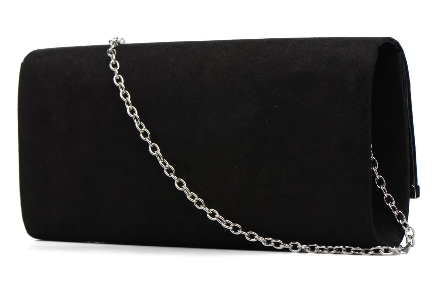 Sacs à main Dorothy Perkins Large Structured Clutch Noir vue droite