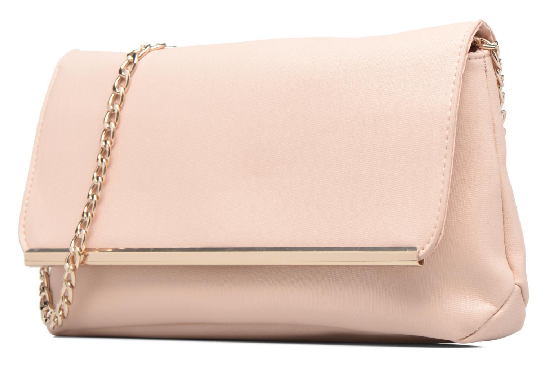 Bolsos de mano Dorothy Perkins Large Structured Clutch Rosa vista del modelo