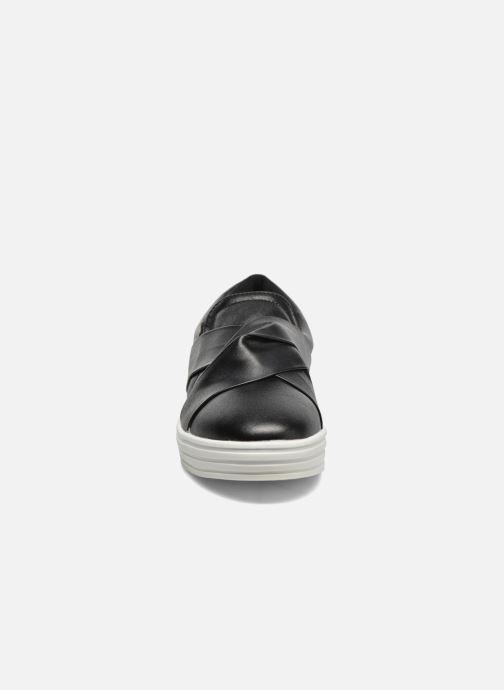 Baskets I Love Shoes THEN Noir vue portées chaussures