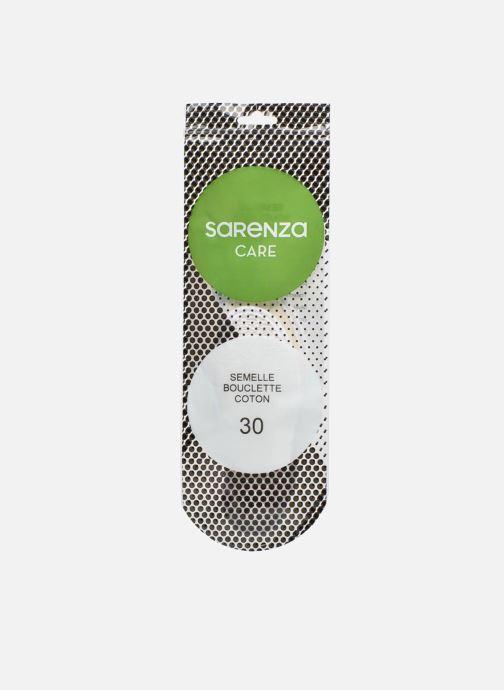 Einlegesohlen Sarenza care Semelle Bouclette Coton Enfant weiß schuhe getragen