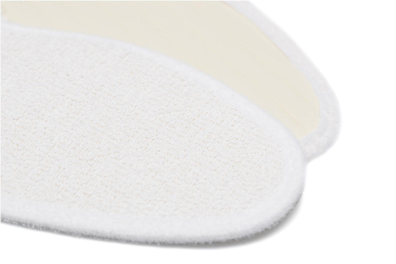 Zolen Sarenza care Semelle Bouclette Coton Femme Wit boven