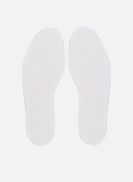 Insoles Sarenza care Semelle Bouclette Coton Homme White model view