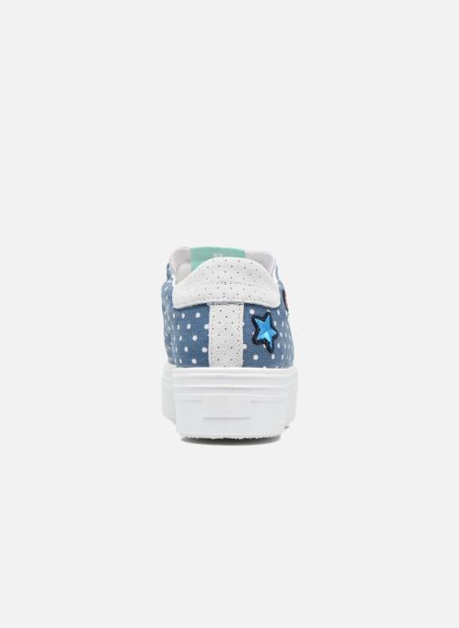 Baskets Ippon Vintage Tokyo Cult Bleu vue droite