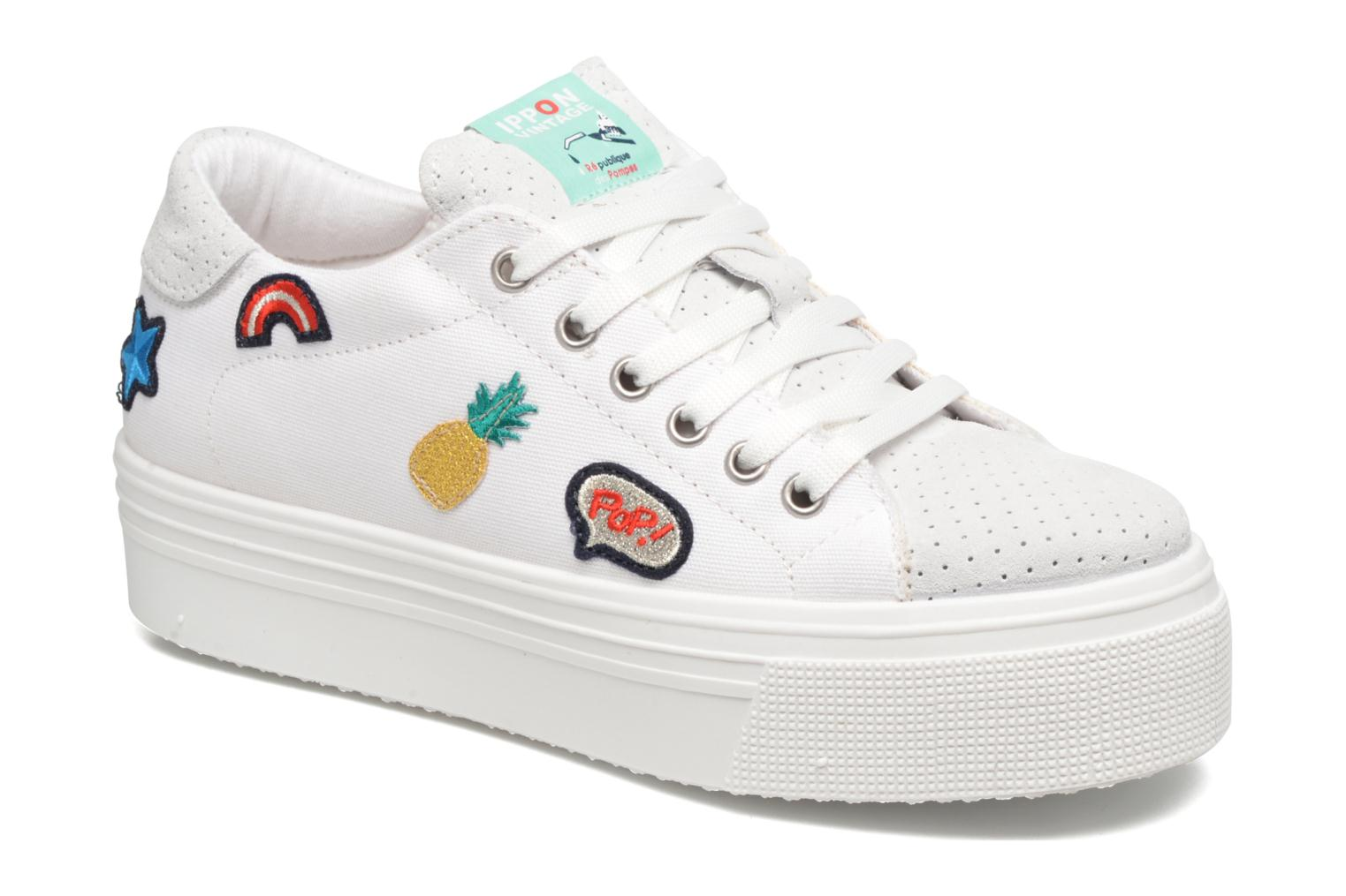 Sneakers Ippon Vintage Tokyo Patch Wit detail