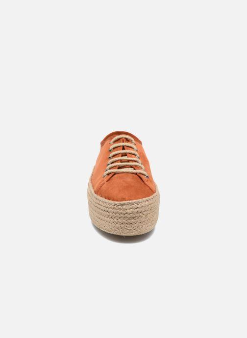 Espadrilles Ippon Vintage Nami orange schuhe getragen